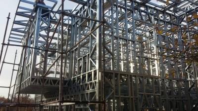 Çelik Konuk Evi Montaj Aşamaları