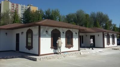 Köyevleri Hafif Çelik Yapı Projesi-180 m²