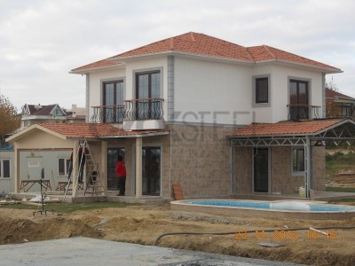 Deep Blue - İstanbul Güzelce Çelik Villaları ( 30 adet )