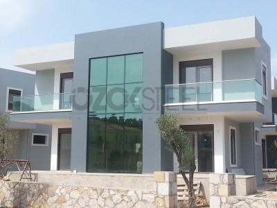 Küçükkuyu Yaşamkent Çelik Evleri -180 m²
