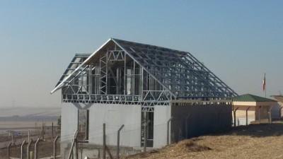 Yuvaköy Çelik Ev Montaj Aşaması