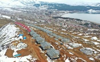 Elazığ Köy Evleri Projesi tüm hızıyla devam ediyor!