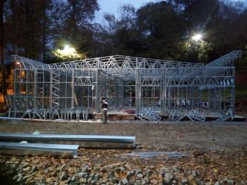 Fethi Paşa Korusu Çelik Yapı