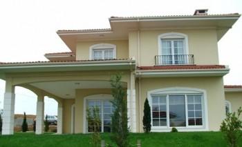 Sarı Hafif Çelik Villa -Ankara -245 m²