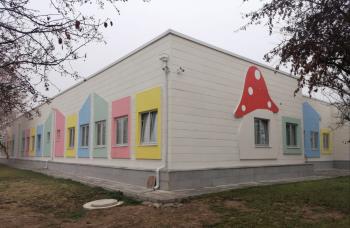 T.C Tarım ve Hayvancılık Bakanlığı Çelik Yapı Kreş - Anaokulu -Ankara -1800 m²