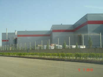 Yiğit Akü Çelik Yapı Fabrika Binası