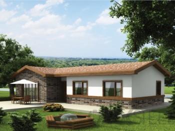 Arzu Hafif Çelik Villa-80 m²