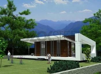 Buğu Çelik Villa-28 m²