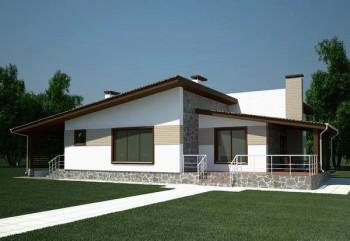 Çizgi Hafif Çelik Villa-132 m²