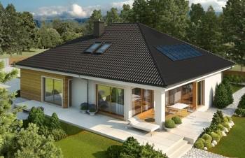 Güneş Hafif Çelik Villa-130 m²