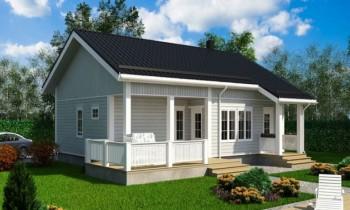Gürgen Hafif Çelik Villa-100 m²