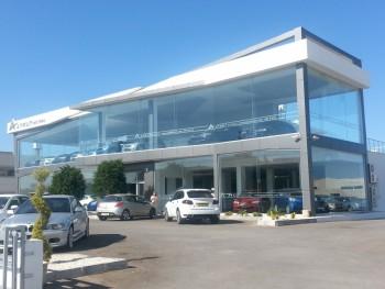 Kıbrıs Çelik Oto Galeri-200 m²